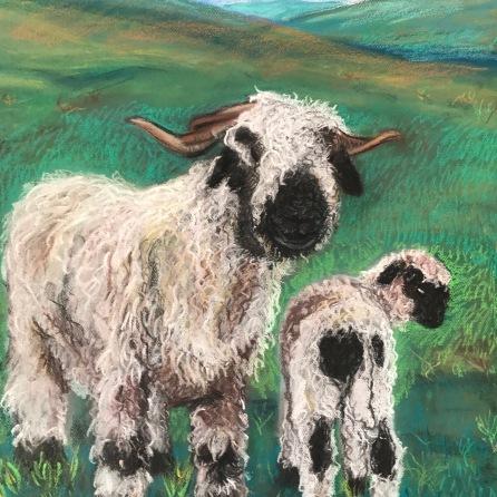 Helga and her lamb